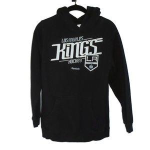 Reebok Kids LA Kings Hockey Hoodie Sz M 10-12